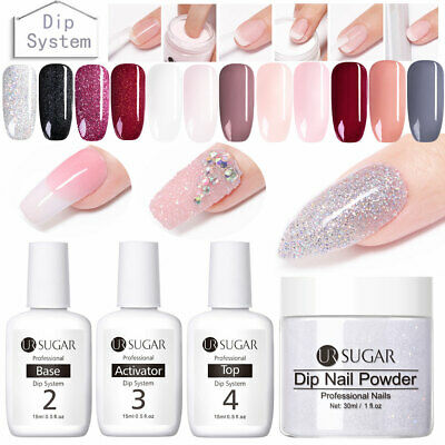 UR SUGAR 15ML Dipping System UV Gel Fast Dry Nail Art Powder Liquid Designs