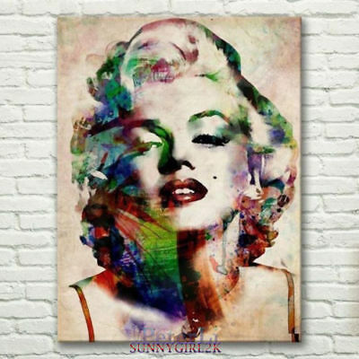 CHENPAT833 vogue hand paint Marilyn Monroe portrait oil painting  art on canvas