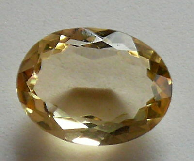 Citrine Healing Stone, 10ct, 17x13x7mm