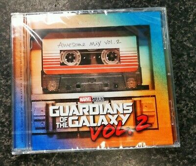 (pa2) Guardians of the Galaxy Vol.2 Awesome Mix Vol.2 Soundtrack CD Sealed
