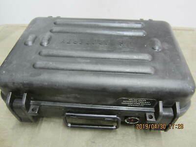 Military Protective Case Hardigg AN/PVS-7B Night Vision Goggles Pistol Case EXC