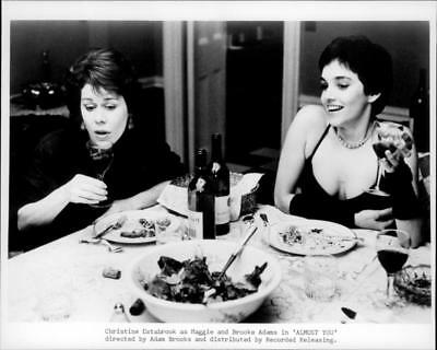 A scene from the film Almost You. - Vintage photo