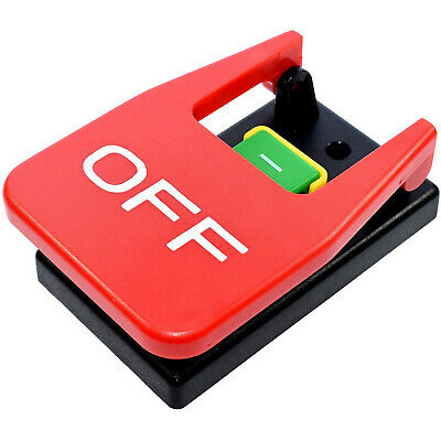 HQRP 110V Magnetic On/Off Paddle Switch for Table Saw, Router Table, Drill Press