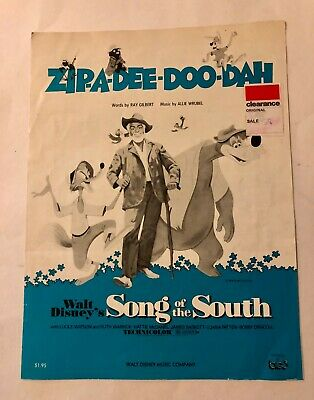 VINTAGE SONG OF the South Walt Disney