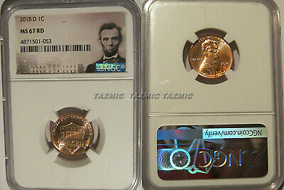 2018 D Lincoln SHIELD Cent 1c NGC MS 67 RD Lincoln Label