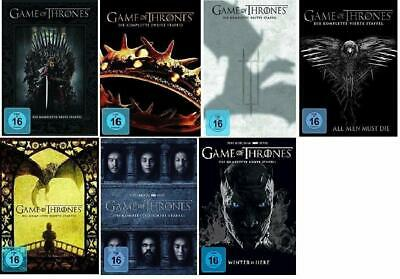 Game of Thrones Complete Season Season 1 2 3 4 5 6 7 Tv Series DVD Collection