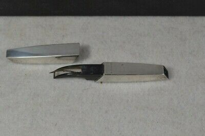 vintage sewing seam ripper scissor sterling silver Parker E. Germany original vg