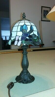 Paul Sahlin Tiffany Stained Glass Lamp 100 00 Picclick