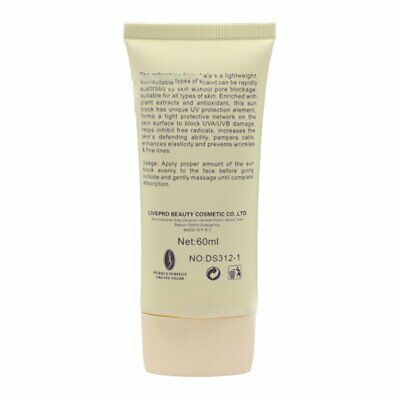 Facial Body Sunscreen Cream Oil-control SPF50 Foundation Effect Sunblock C I⊥