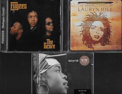 Lauryn Hill & Fugees 4 Great Cds The Score Miseducation Of Mtv Unplugged 2.0