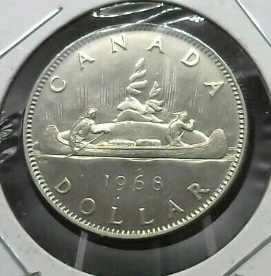 1968  Canada Nickle dollar coin UNC