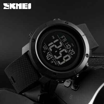 SKMEI Watch Mens/Womens Watches Waterproof Sport Outdoor LED Digital Wristwatch