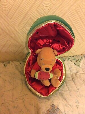 Disney Store Winnie The Pooh In A Water Melon