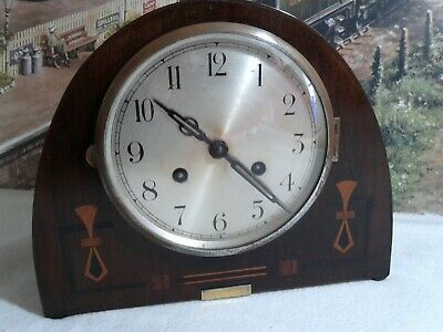 Art Deco style Mantle clock in  restored condition