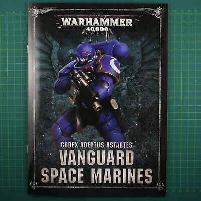 Codex: Vanguard Space Marines Brochure Anglais Warhammer 40k 11931