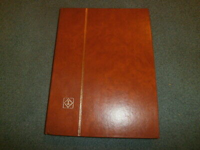 Lighthouse Hardback Stockbook, 16 Double Sided Glassine Lined Pages