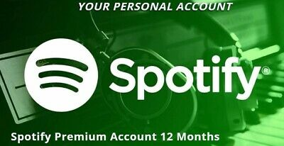 🔥Spotify Premium 🔥12 Months 🔥1H  Delivery Worldwide🔥