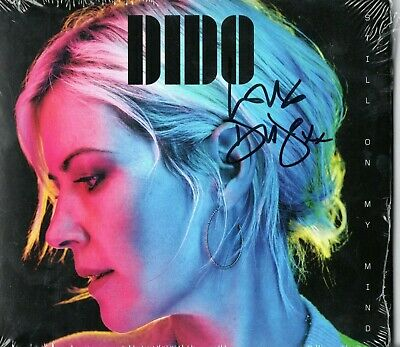Dido Hand Signed Autograph Still On My Mind Cd Sealed Eminem Brit Award Winner