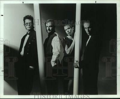 Press Photo Four Members of the band Kronos Quartet, Entertainers, Musicians
