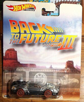 HOT WHEELS BACK to the FUTURE III 1955 METAL/METAL Carded