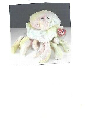 053c23b3667 NEW Retired Ty Beanie Baby Buddy - Goochy The Jellyfish - Large Plush