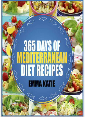 365 days of Mediterranean Diet Recipes 2019-Cookbook 011Eb00k/PDF -FAST Delivery
