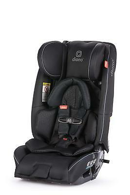 Diono 2018 3 RXT Convertible Car Seat In Black - BRAND NEW! (open box)