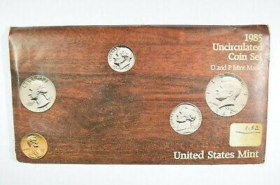 1985 United States Mint P&D Uncirculated Coin Set (b567.5)
