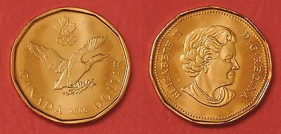 Brilliant Uncirculated 2006 Canada Lucky 1 Dollar From Mint's Roll