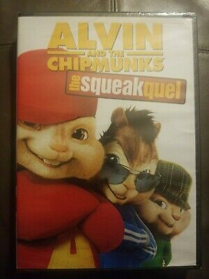 Alvin and the Chipmunks: The Squeakquel (DVD, 2010)**NEW**FAST SHIPPING**