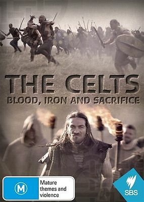 The Celts - Blood, Iron And Sacrifice (DVD, 2016) BRAND NEW SEALED