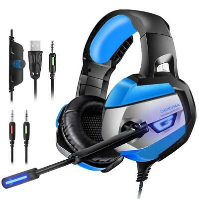 ONIKUMA Casque Gaming - Gamer pour PS4 Xbox One PC Console, 2018 Micro-...
