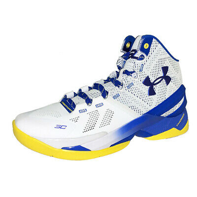 new styles 3a629 0f7f5 UNDER ARMOUR CURRY 2 Dub Nation Home DS New 1259007-104 Mens US sz 10.5