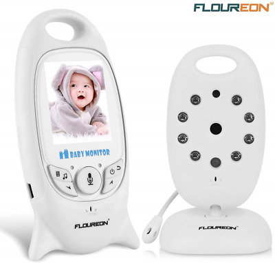 FLOUREON Wireless Baby Monitor IP Camera With Two Way Talk 2.0 Inch LCD Digital
