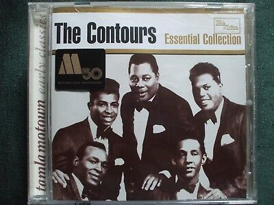 The Contours Essential Collection CD.Motown / Northern Soul.Disc In Ex.Condition