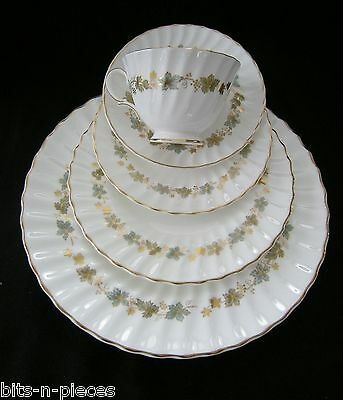 ROYAL DOULTON PIEDMONT 5 pc Place Setting Dinner Salad Side Plate Cup Saucer