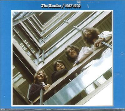 THE BEATLES - 1967-1970 (The Blue Album)  Double Remastered CD - Very Good Plus
