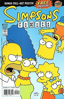 Simpsons Comics 113 Bongo 2005 Little Orphan Bart  Boothby Costanza Novin