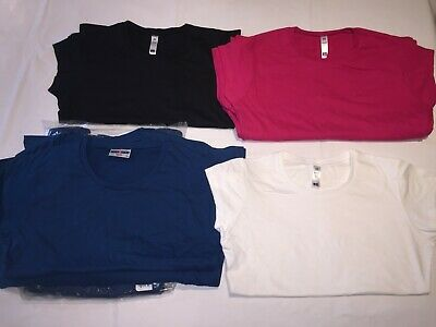 CLEARANCE New Ladies Assorted T shirt lot x 43. AC11.