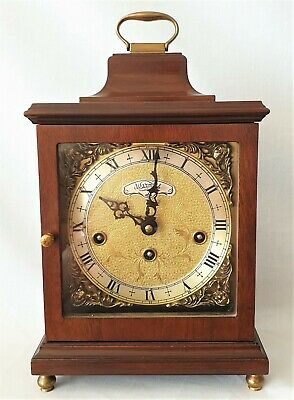Warmink Mantel Clock Westminster Quarter Chime 8 Day Deco Style