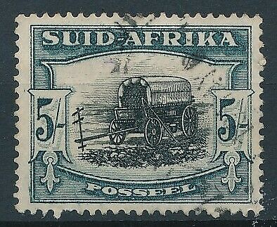 [7157] South Africa 1927-28 good stamp very fine used value $50
