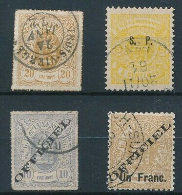 [35950] Luxembourg Good lot classical stamps Very Fine used