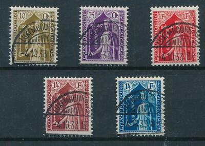 [36509] Luxembourg 1932 Good set Very Fine used stamps Value $125