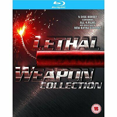 Brand New! Lethal Weapon 1-4 Blu Ray Movies Complete Box Set Collection 1 2 3 4