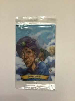 Harry Potter chocolate frog card Quirinus Quirrell Brand New Sealed