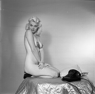 1950s Bunny Yeager Archive Camera Negative Photograph MARIA STINGER Pin Up