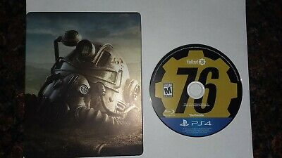 Fallout 76  w/ SteelBook PlayStation 4 NEW!!