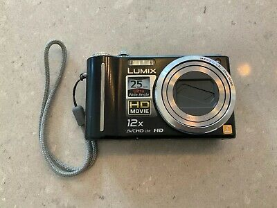 Panasonic LUMIX DMC-TZ7 10.1MP Digital Camera - Black