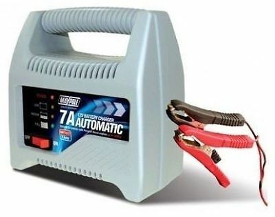 Maypole MP7417 7 AMP AUTOMATIC BATTERY CHARGER Car Van Tractor Leisure battery