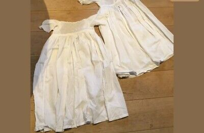 Two Antique Victorian Baby Nightdresses